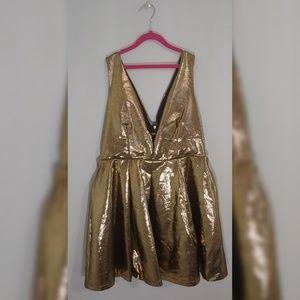 Seyemimi gold party dress